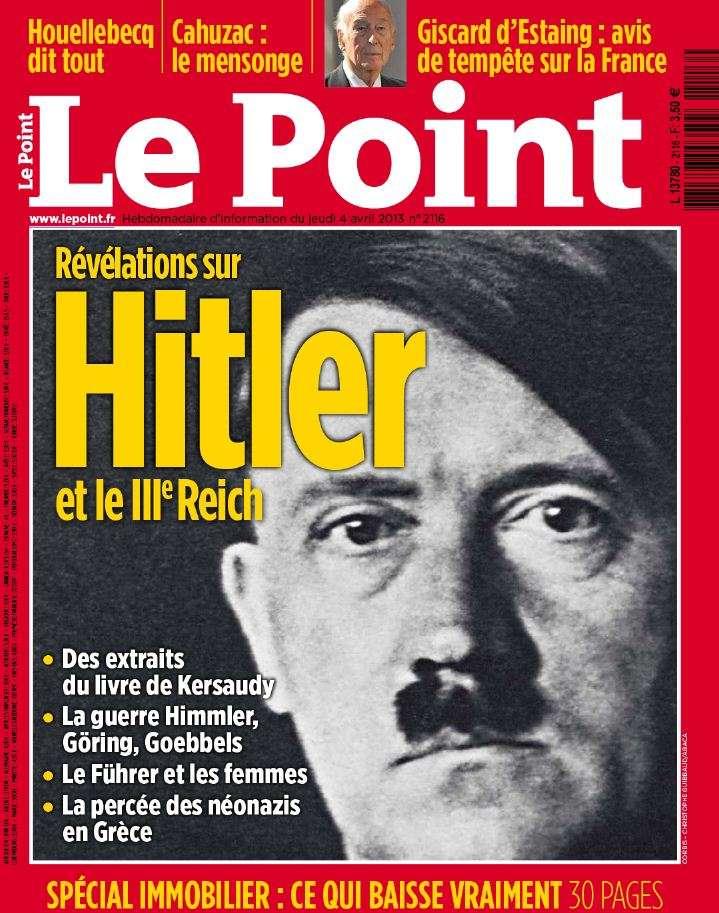 Le Point N°2116 du 4 au 10 Avril 2013