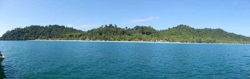 noch ein Panoramafoto von dem schönen Strand