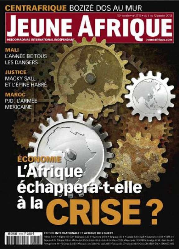 Jeune Afrique N°2713 du 06 au 12 Janvier 2013