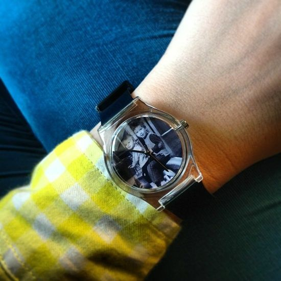 Instawatch custom photo watch on Cool Mom Picks