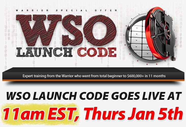 WSO Code Launch Code