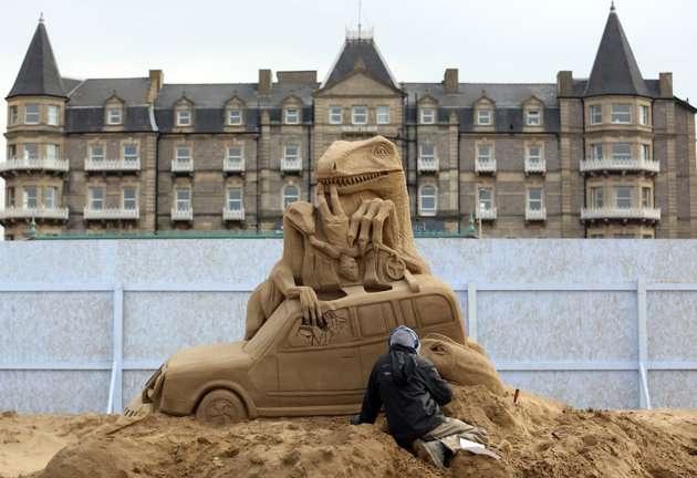 sculptorsplacefinishingo - Increíbles esculturas de arena en el Reino Unido